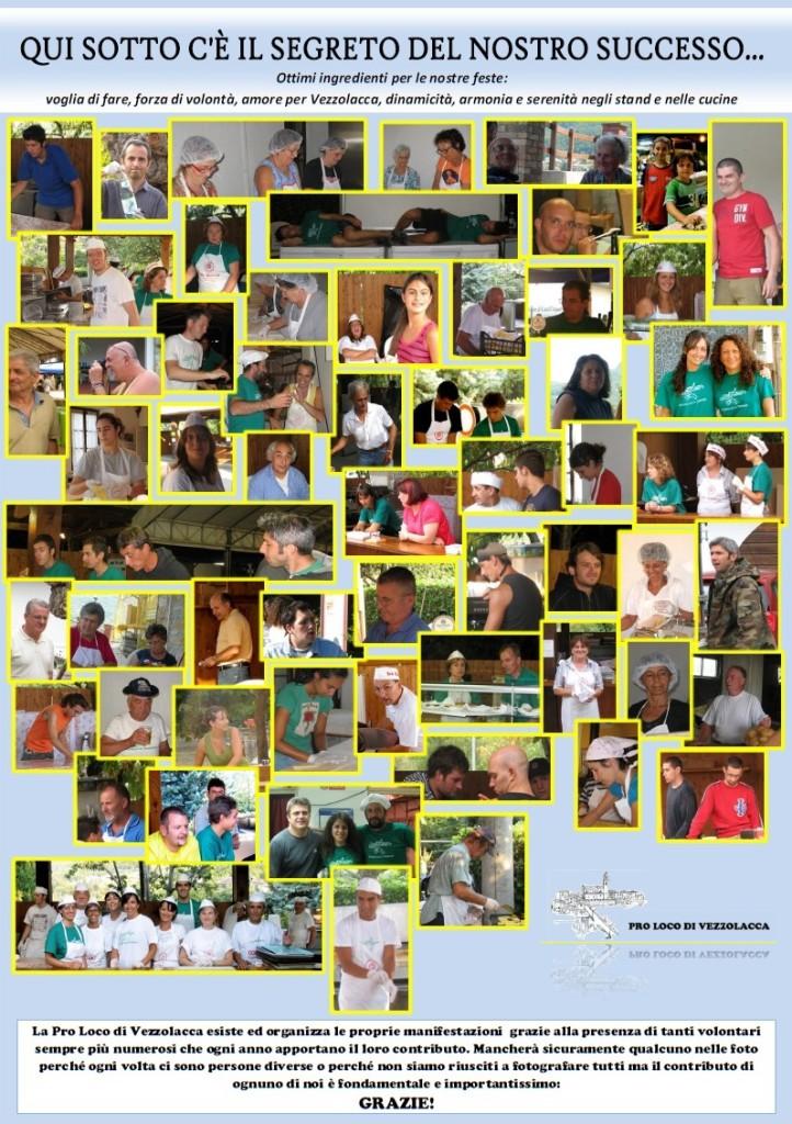 manifesto volontari
